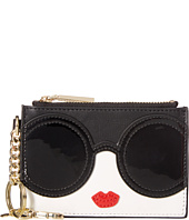 Alice + Olivia - Stace Face Zip Coin Pouch Key Charm