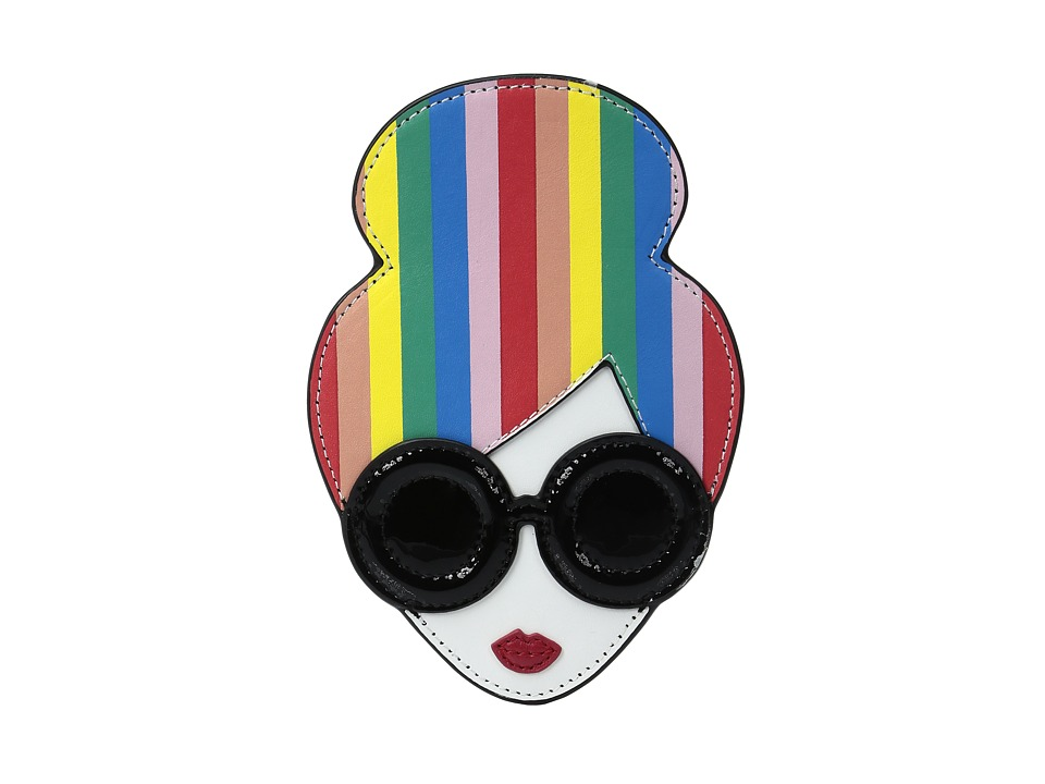 Alice + Olivia - Rainbow Print Stace Face Credit Card Case