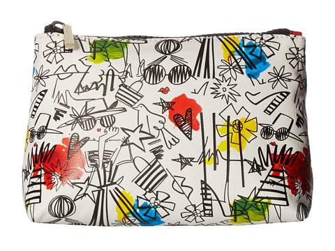 Alice + Olivia Stace Face Graffiti Print Small Cosmetic Pouch