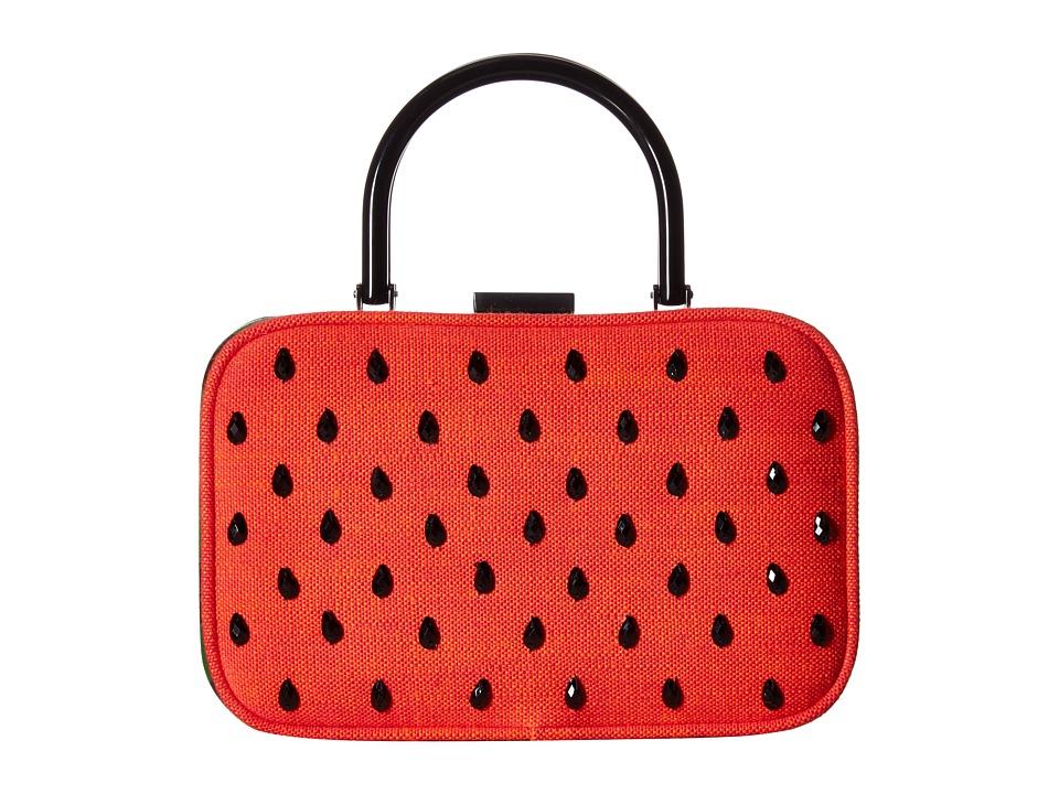Alice + Olivia - Drew Watermelon Frame Box Bag