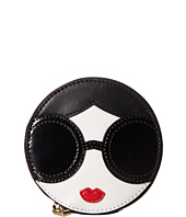 Alice + Olivia - Stace Face Circle Coin Pouch Key Charm