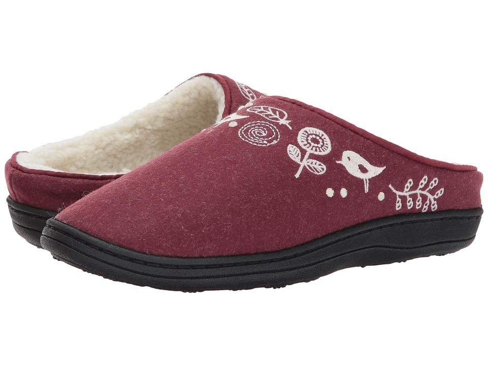 Acorn Talara Mule (Garnet) Slippers