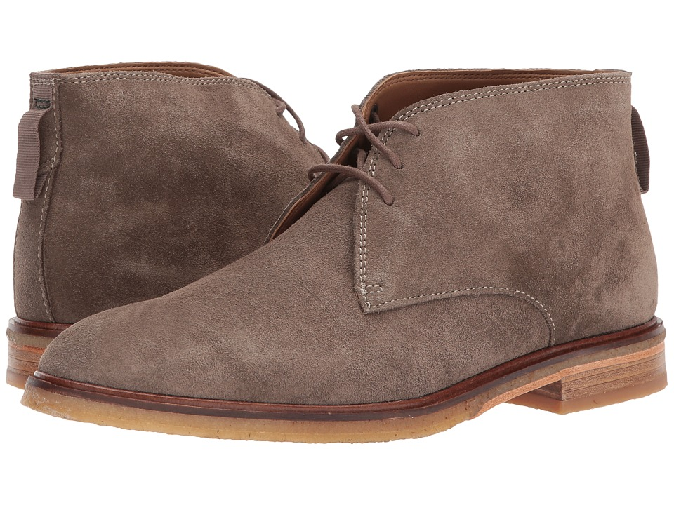 Clarks Clarkdale Bara (Olive Suede) Men's Lace-up Boots