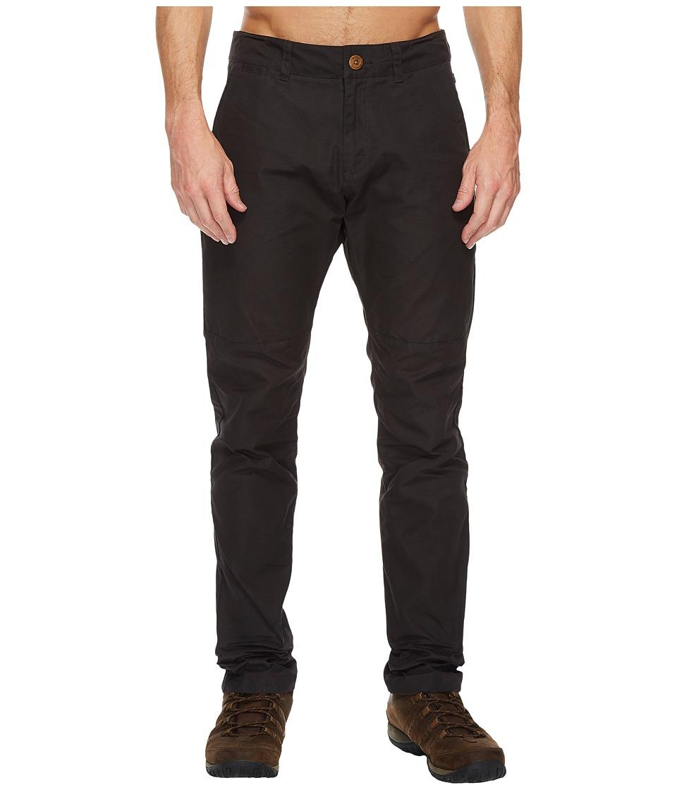 Fjallraven - Sormland Tapered Trousers (Dark Grey) Mens Casual Pants