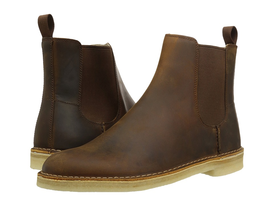 Clarks - Desert Peak (Beeswax) Mens Pull-on Boots