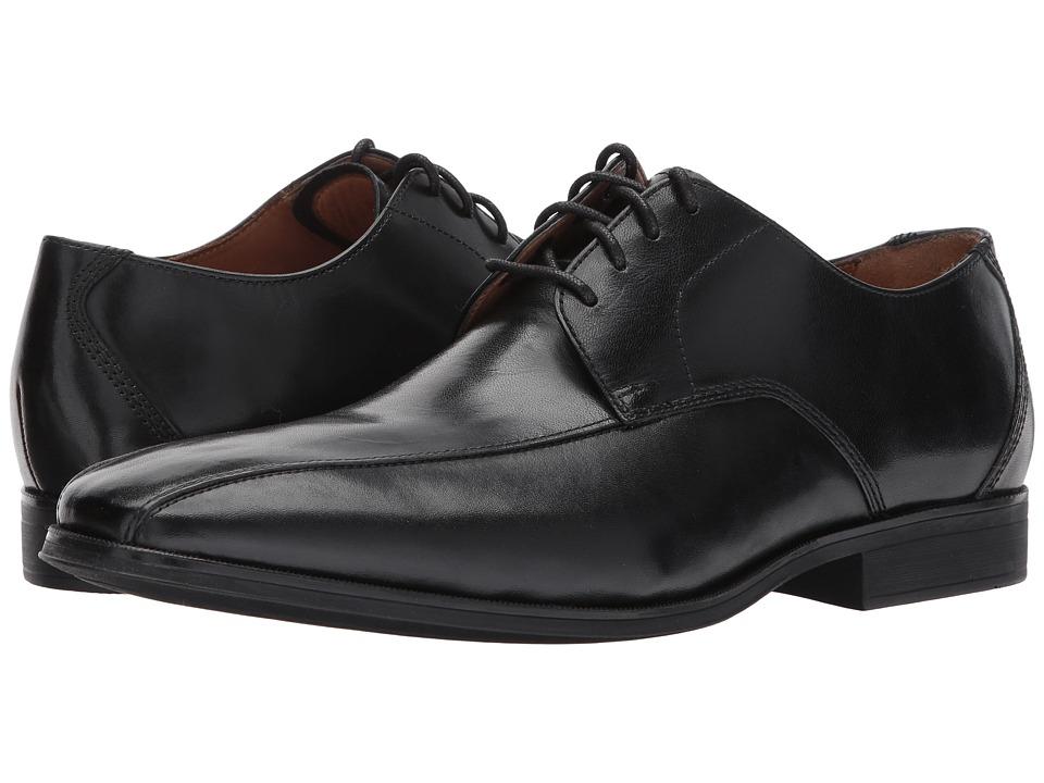 Clarks - Gilman Mode (Black Leather) Mens Lace Up Cap Toe Shoes