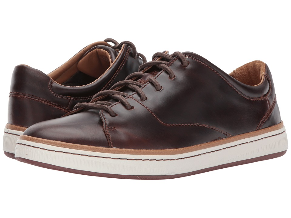 Clarks Norsen Lace (Dark Tan Leather) Men
