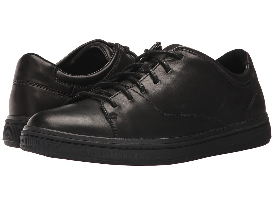 Clarks Norsen Lace (Black Leather) Men