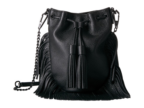 Rebecca Minkoff Fallen Phone Crossbody - Black
