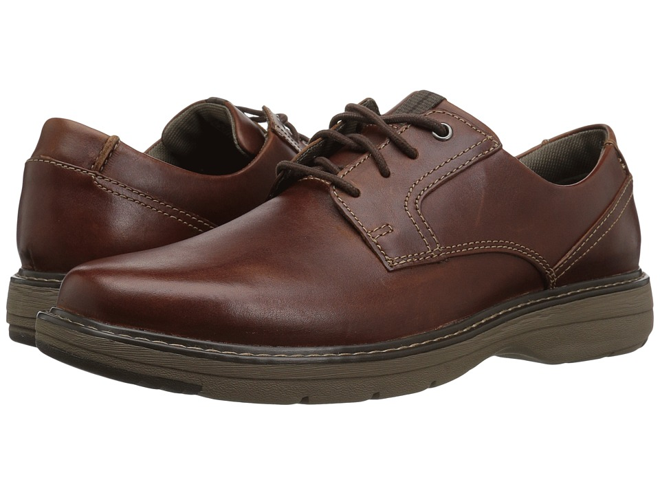 Clarks Cushox Pace (Dark Tan Leather) Men