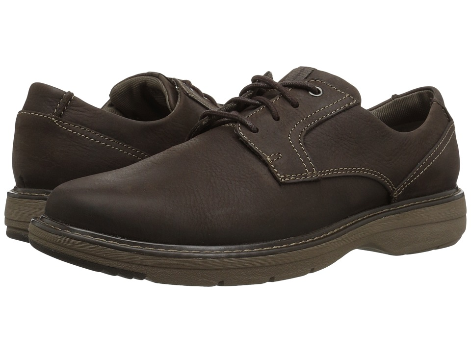 Clarks Cushox Pace (Dark Brown Nubuck) Men