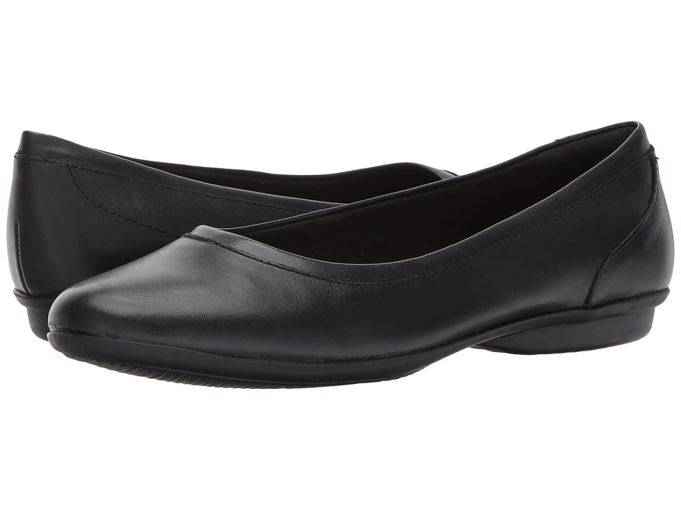 Clarks Gracelin Mara (Black Smooth) Women's Shoes