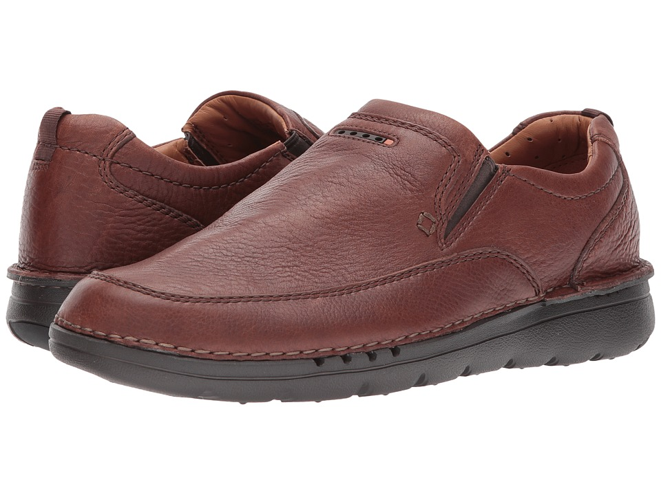 Clarks UnNature Easy (Brown Leather) Men