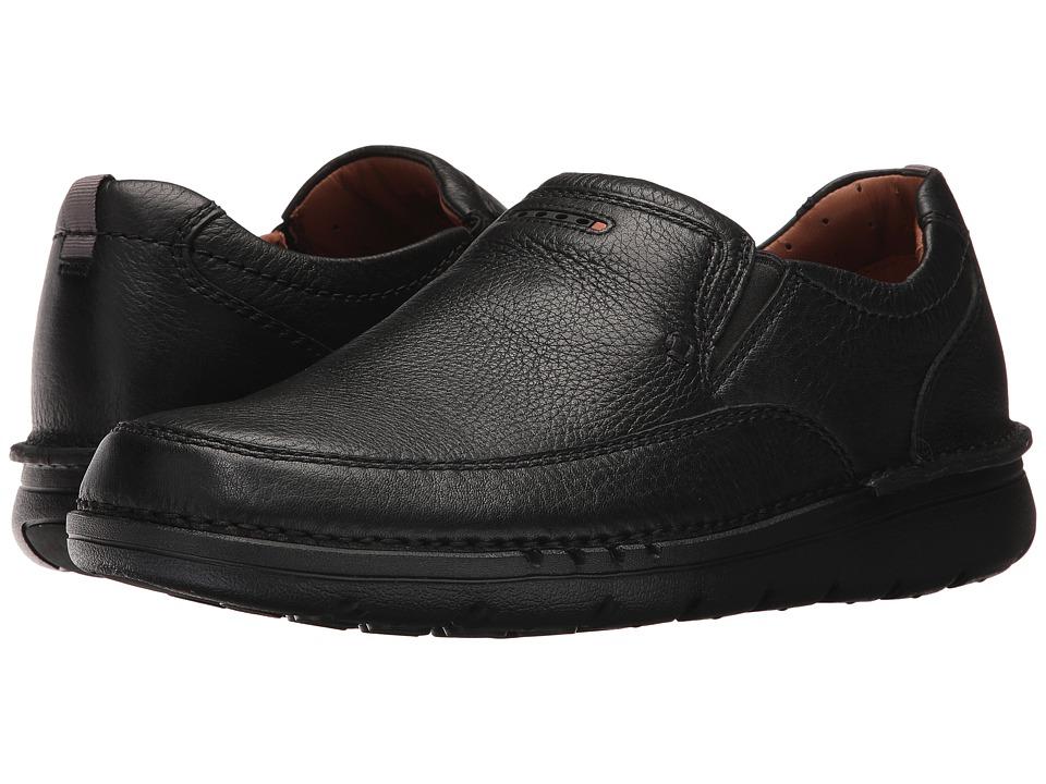 Clarks UnNature Easy (Black Leather) Men