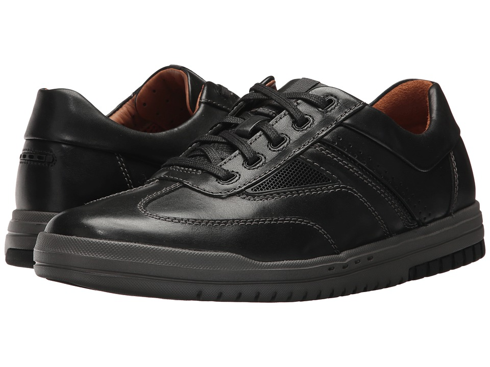 Clarks UnRhombus Fly (Black Leather) Men's Lace up casual...