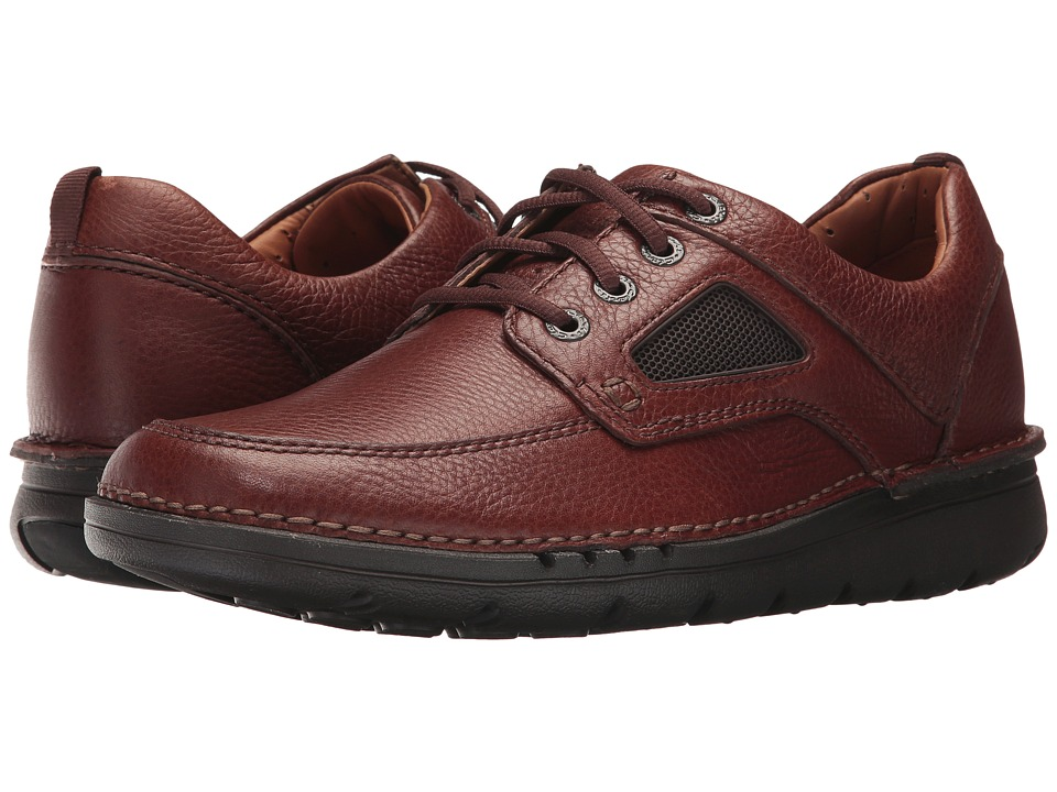 Clarks UnNature Time (Brown Leather) Men