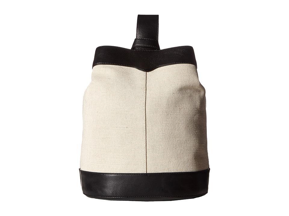 Rebecca Minkoff Mission Sling Backpack (Natural) Backpack...