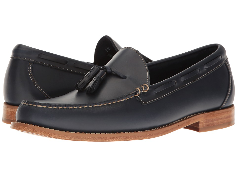 G.H. Bass & Co. Lexington Tassel Weejuns (Blue Pull-Up) Men