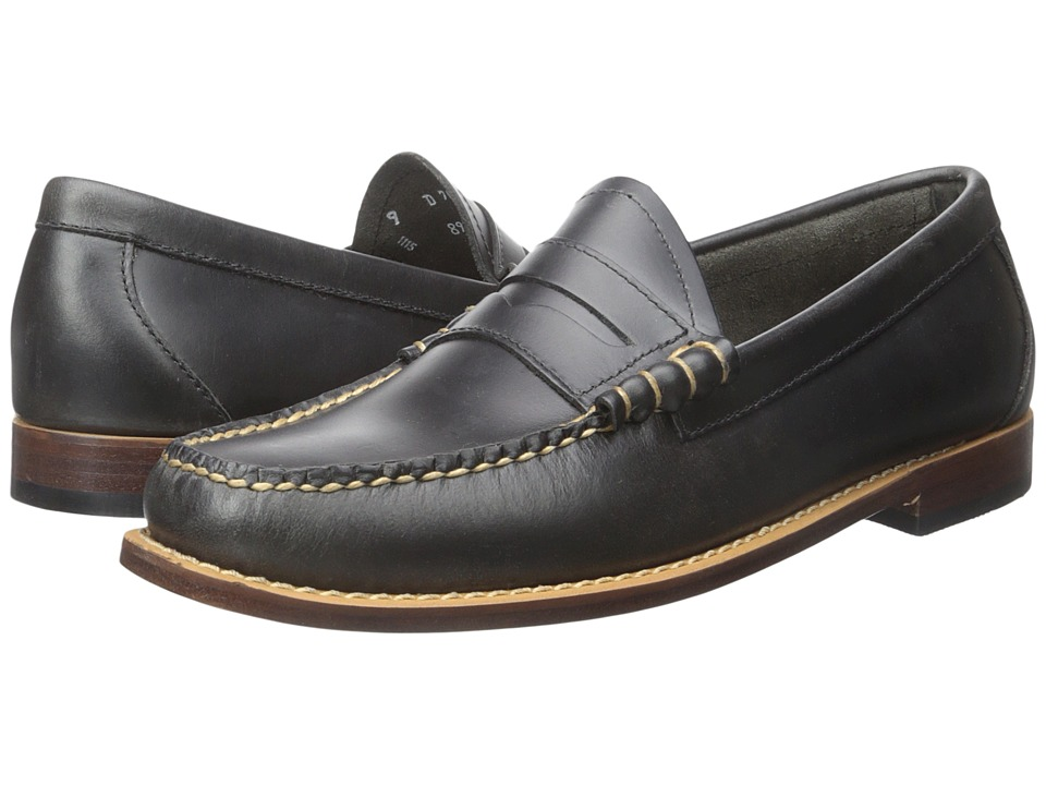 G.H. Bass & Co. Larson Weejuns (Navy Pull-Up) Men