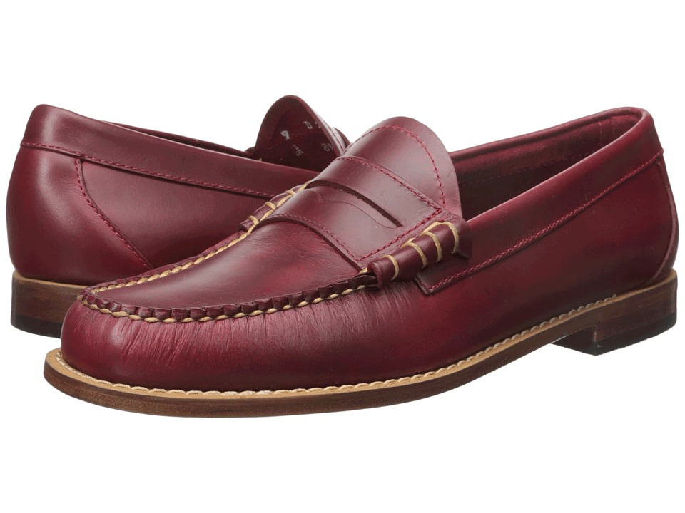 G.H. Bass & Co. - Larson Weejuns (Red Pull-Up) Men's Slip...