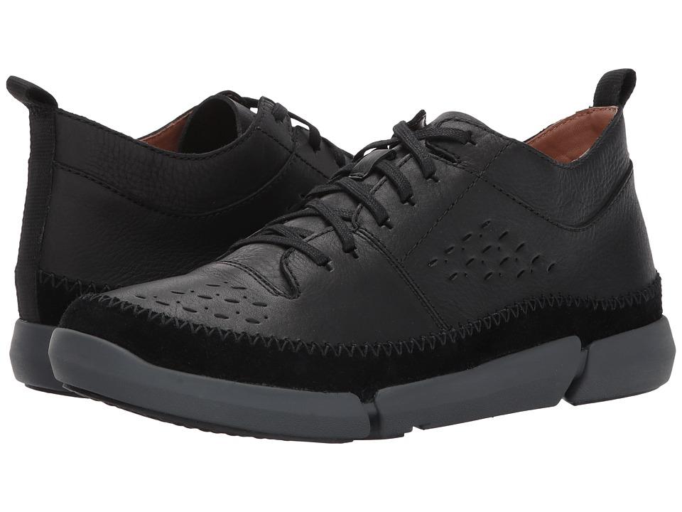 Clarks TriFri Hi (Black Leather) Men