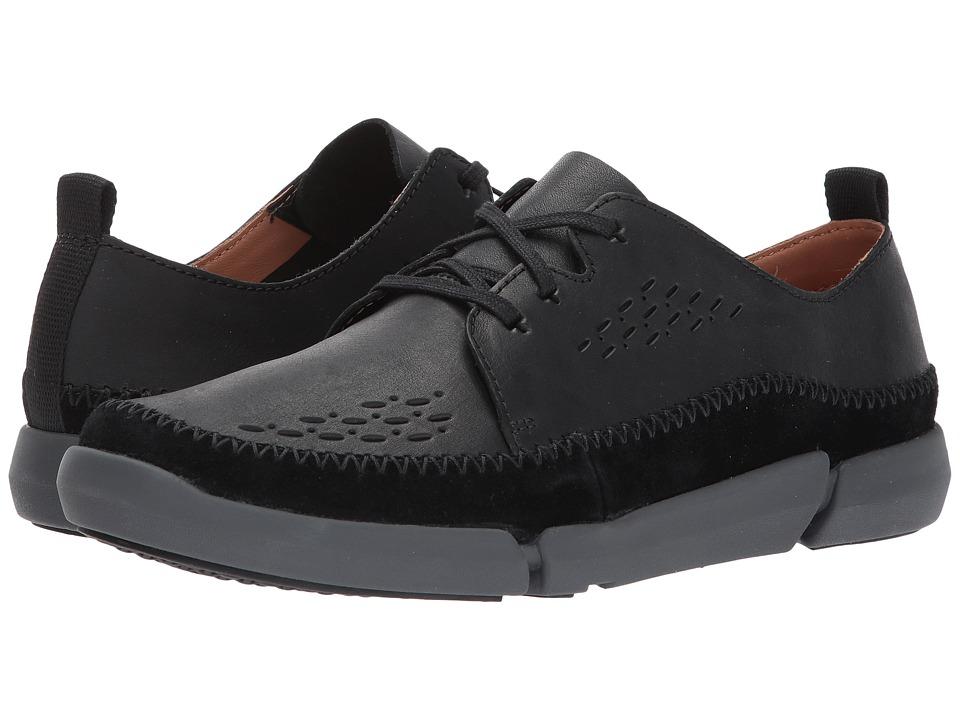 Clarks TriFri Lace (Black Leather) Men