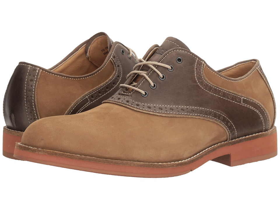 Rockabilly Men's Clothing G.H. Bass amp Co. - Noah Dirty BuckTaupe Nubuck Mens Lace up casual Shoes $120.00 AT vintagedancer.com