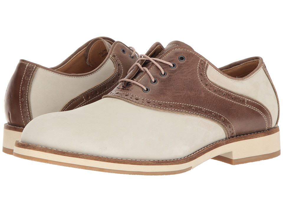 G.H. Bass & Co. Noah (Oyster/Brown Nubuck) Men
