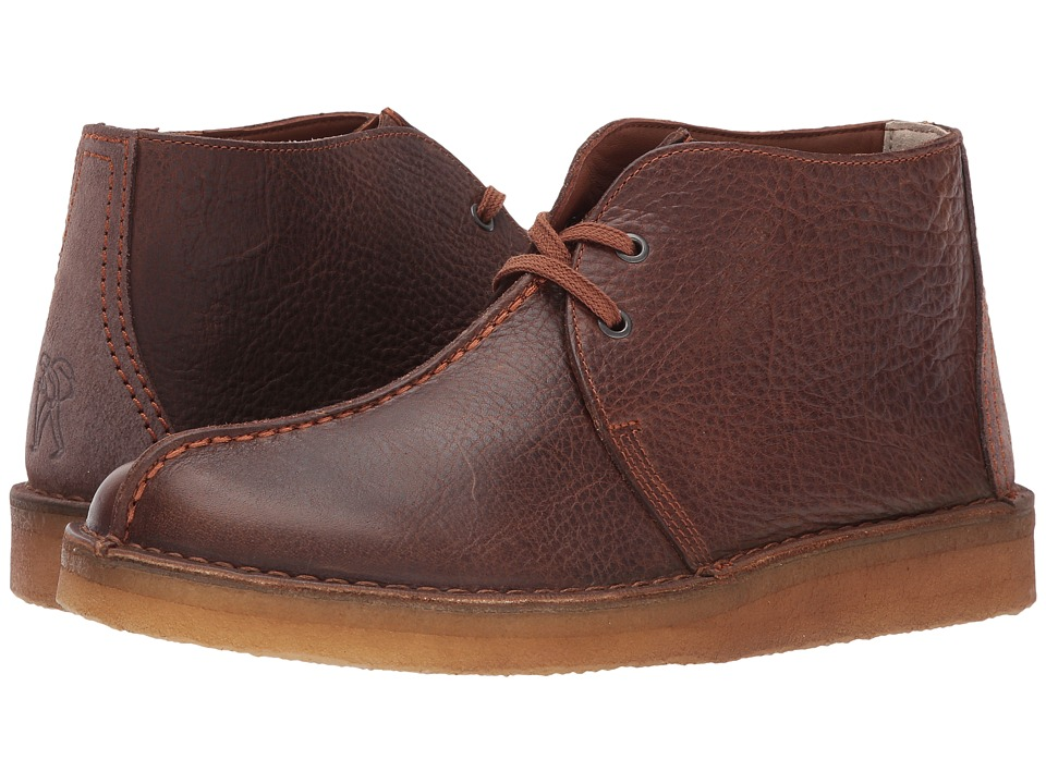 Clarks Desert Trek Hi (Cola Leather) Men