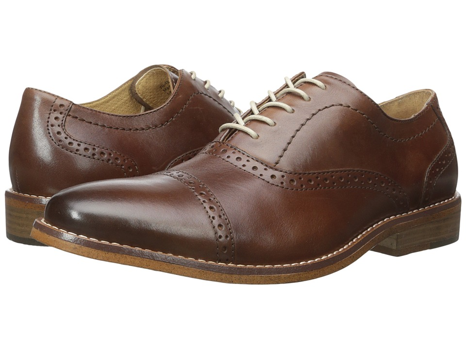 G.H. Bass & Co. Carnell (British Tan Burnished Full Grain) Men