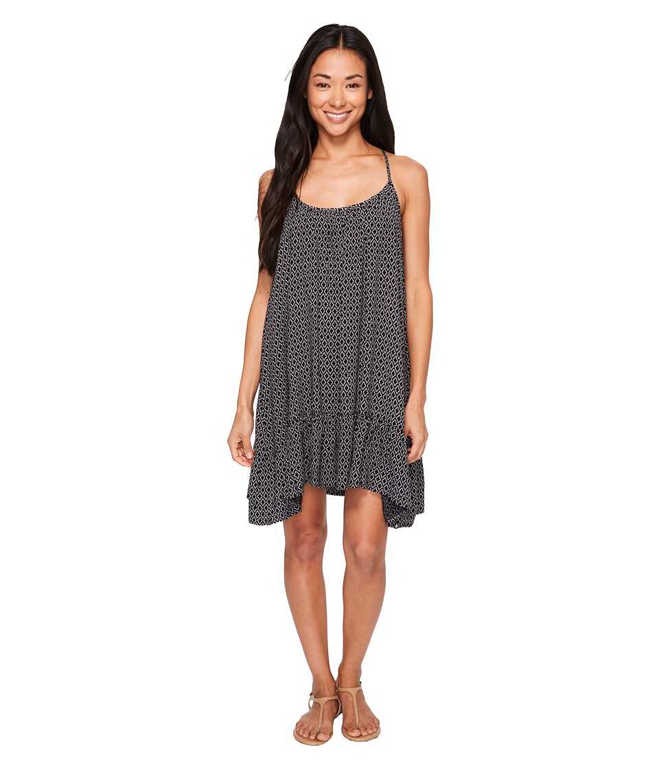 Volcom Simple Things Dress (Black) Women