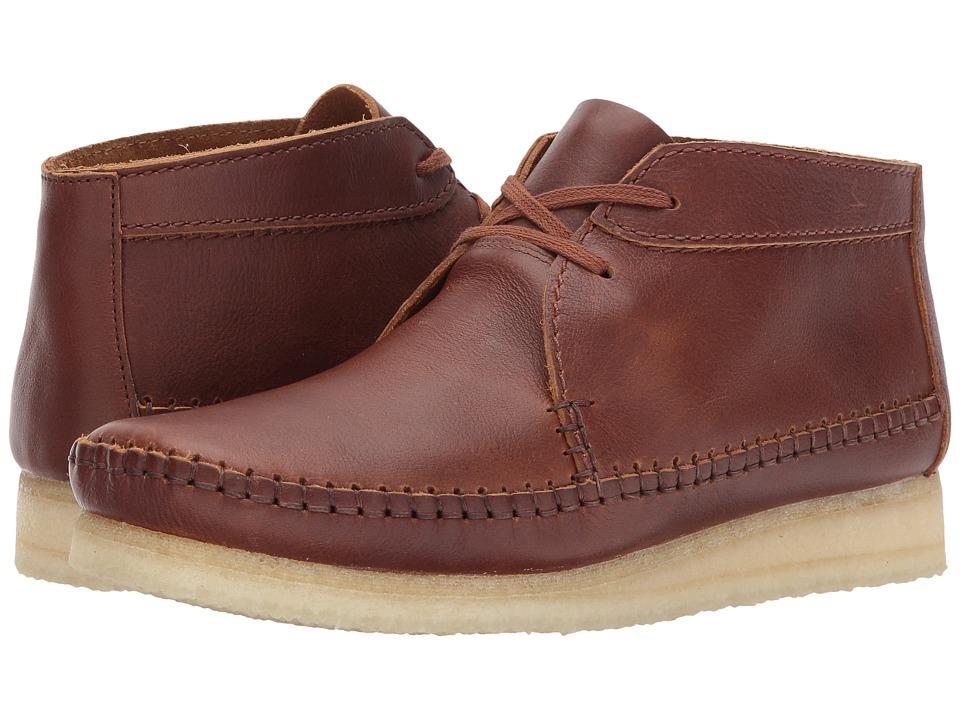 Clarks Weaver Boot (Tan Leather) Men