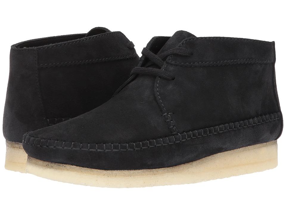 Clarks Weaver Boot (Black Suede) Men