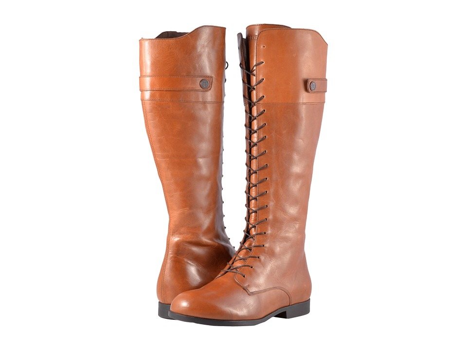 Birkenstock Longford (Camel Leather) Women