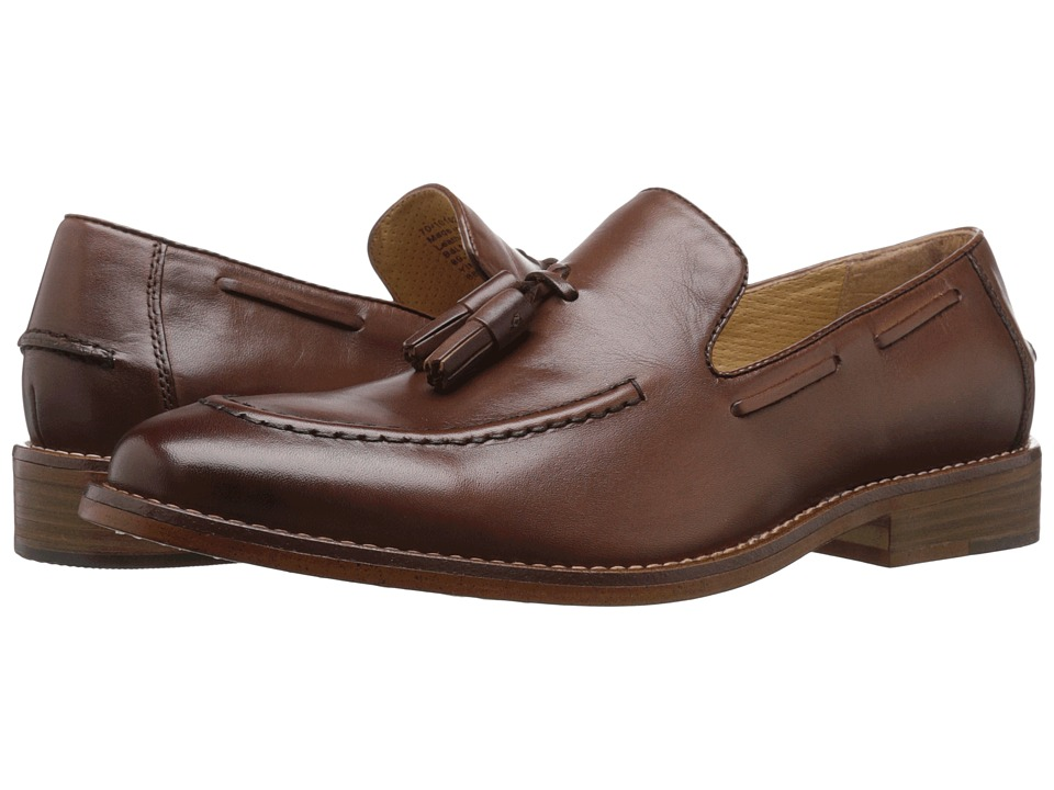 G.H. Bass & Co. Cooper (Tan Burnished Full Grain) Men