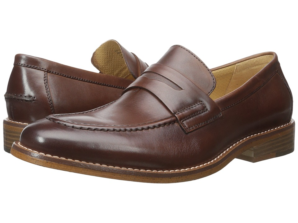 G.H. Bass & Co. Conner (British Tan Burnished Full Grain) Men