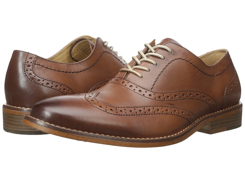 G.H. Bass & Co. Corbin (Tan Burnished Full Grain) Men