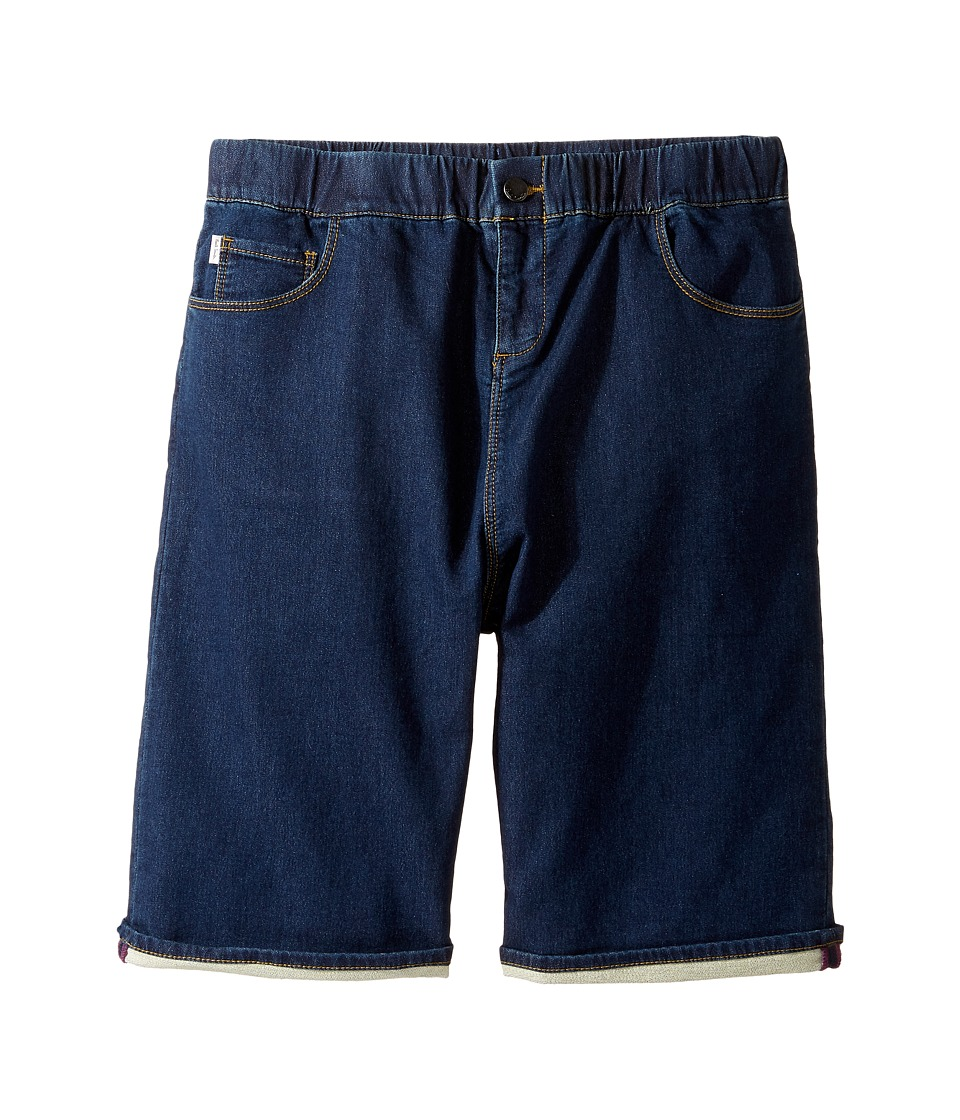 Paul Smith Junior - Fleece Denim Shorts