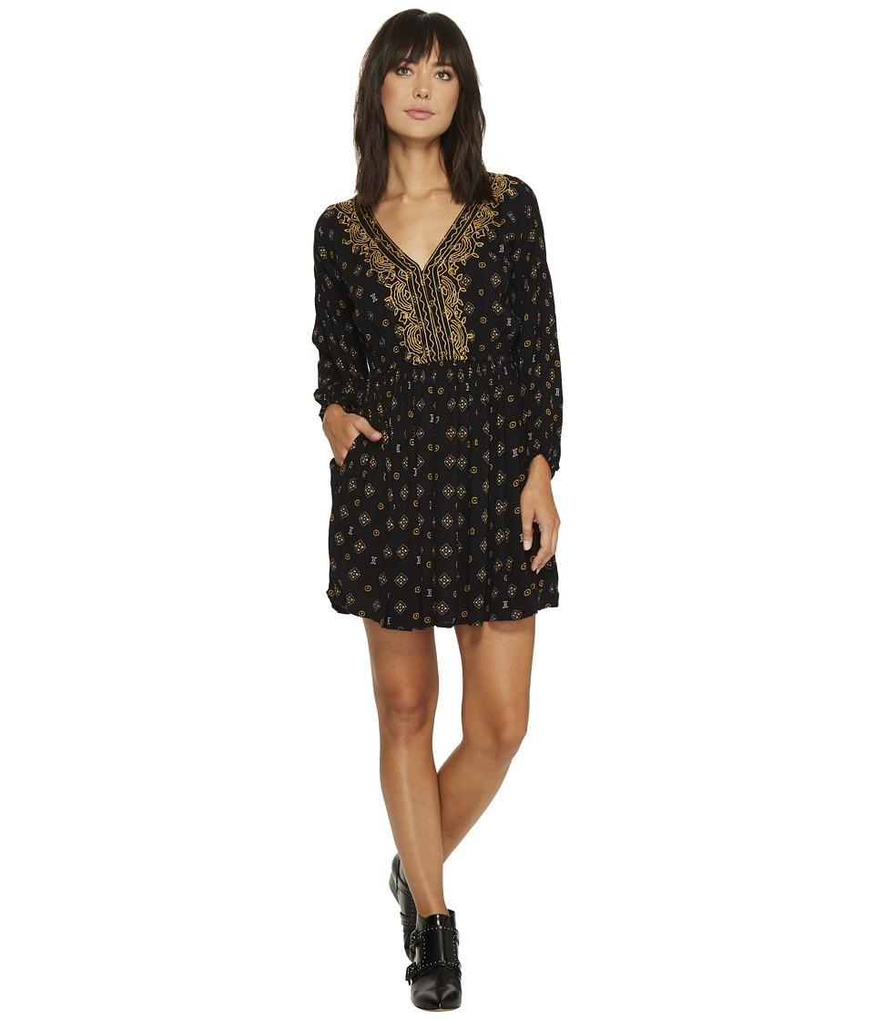 Volcom Champain Trail Dress (Black) Women