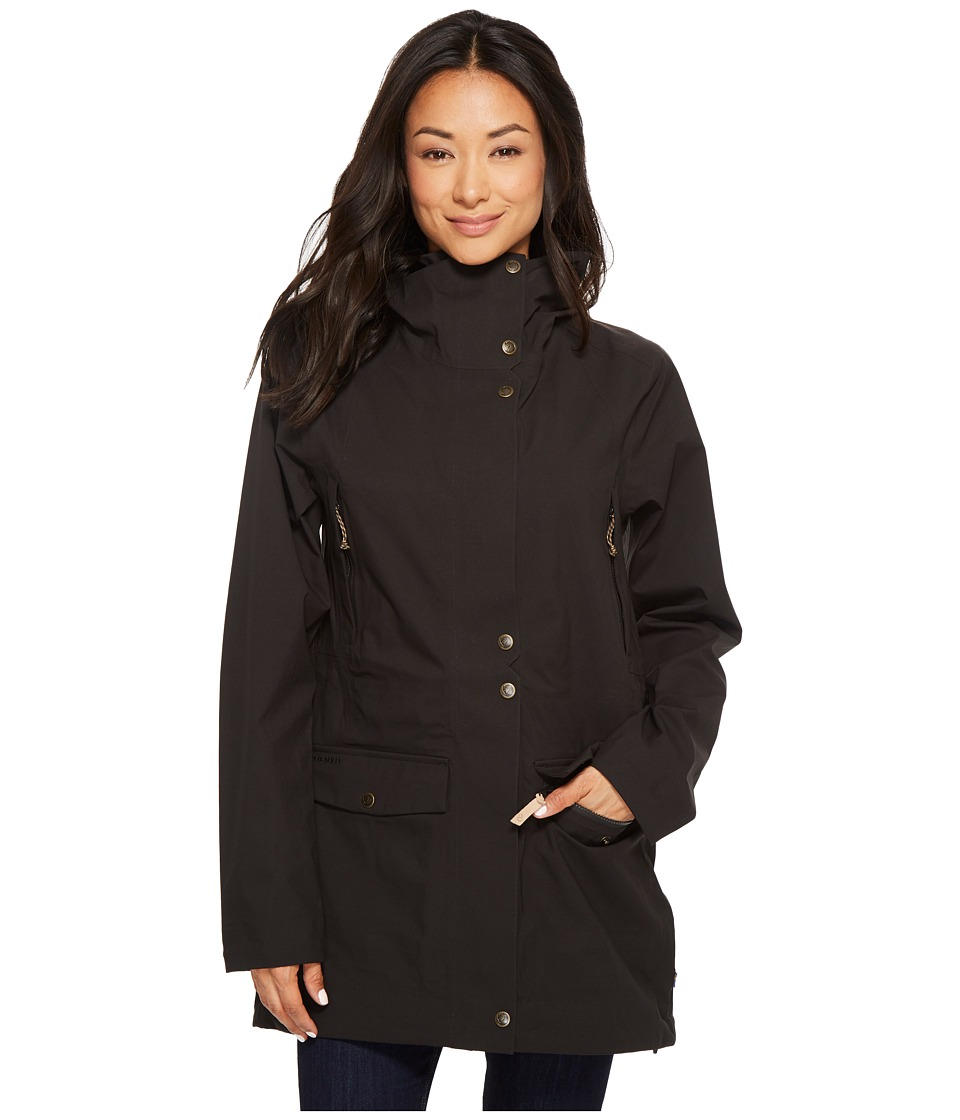 Fjallraven - Ovik Eco-Shell Parka (Black) Womens Coat