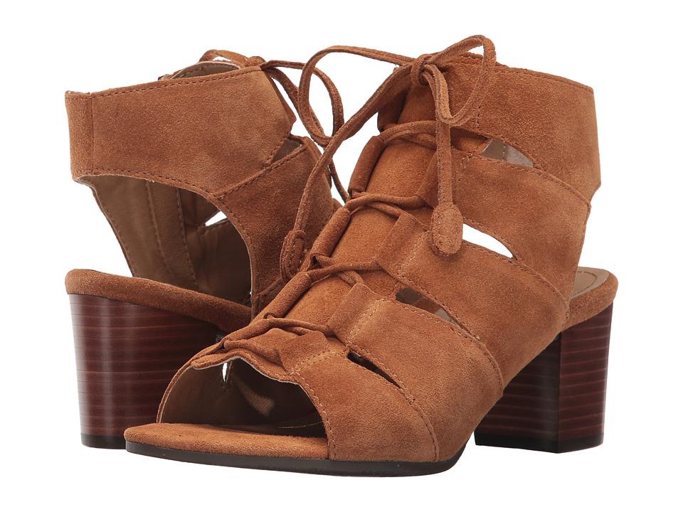 Vionic Bristol (Caramel) Women's Flat Shoes