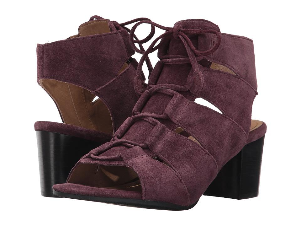 Vionic Bristol (Merlot) Women's Flat Shoes