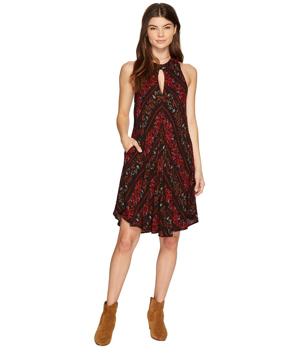 Volcom Fresh As Dress (Black Combo) Women