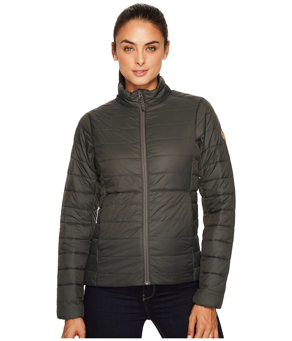 Fjallraven Keb Lite Padded Jacket (Stone Grey) Women