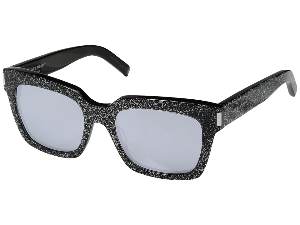 Saint Laurent - Bold 1 (Multicolor/White Mirror) Fashion Sunglasses