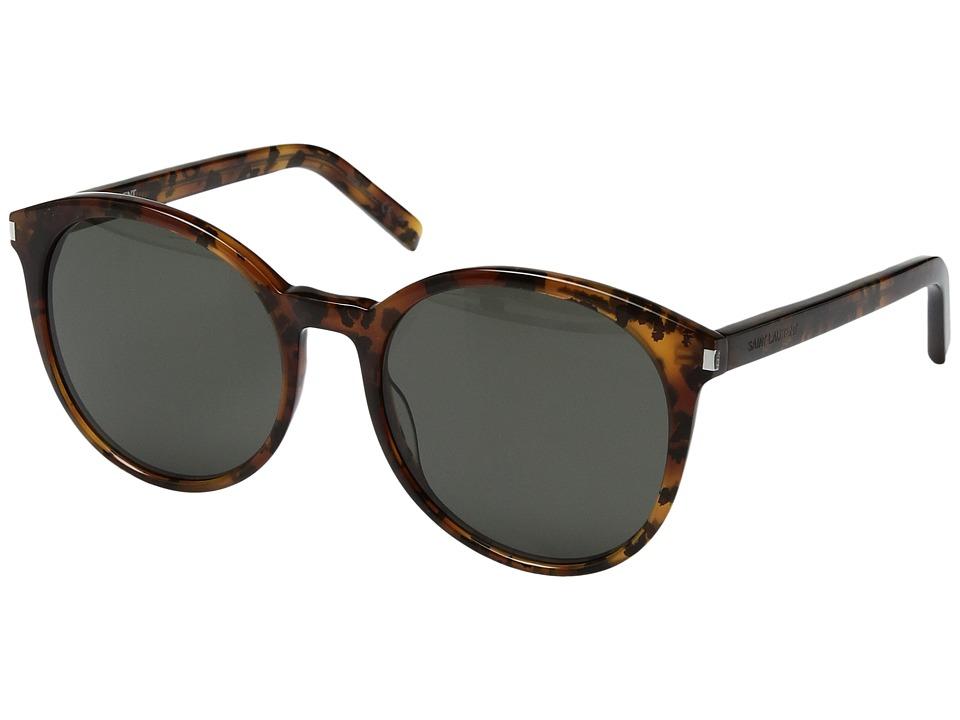 Saint Laurent - Classic 6 (Havana/Grey) Fashion Sunglasses