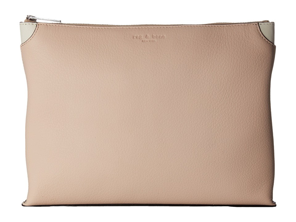 rag & bone - Medium Pouch (Rosedust) Travel Pouch
