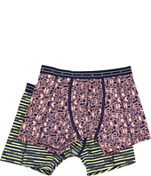 Scotch & Soda - Colourful All Over Print Classic Boxer