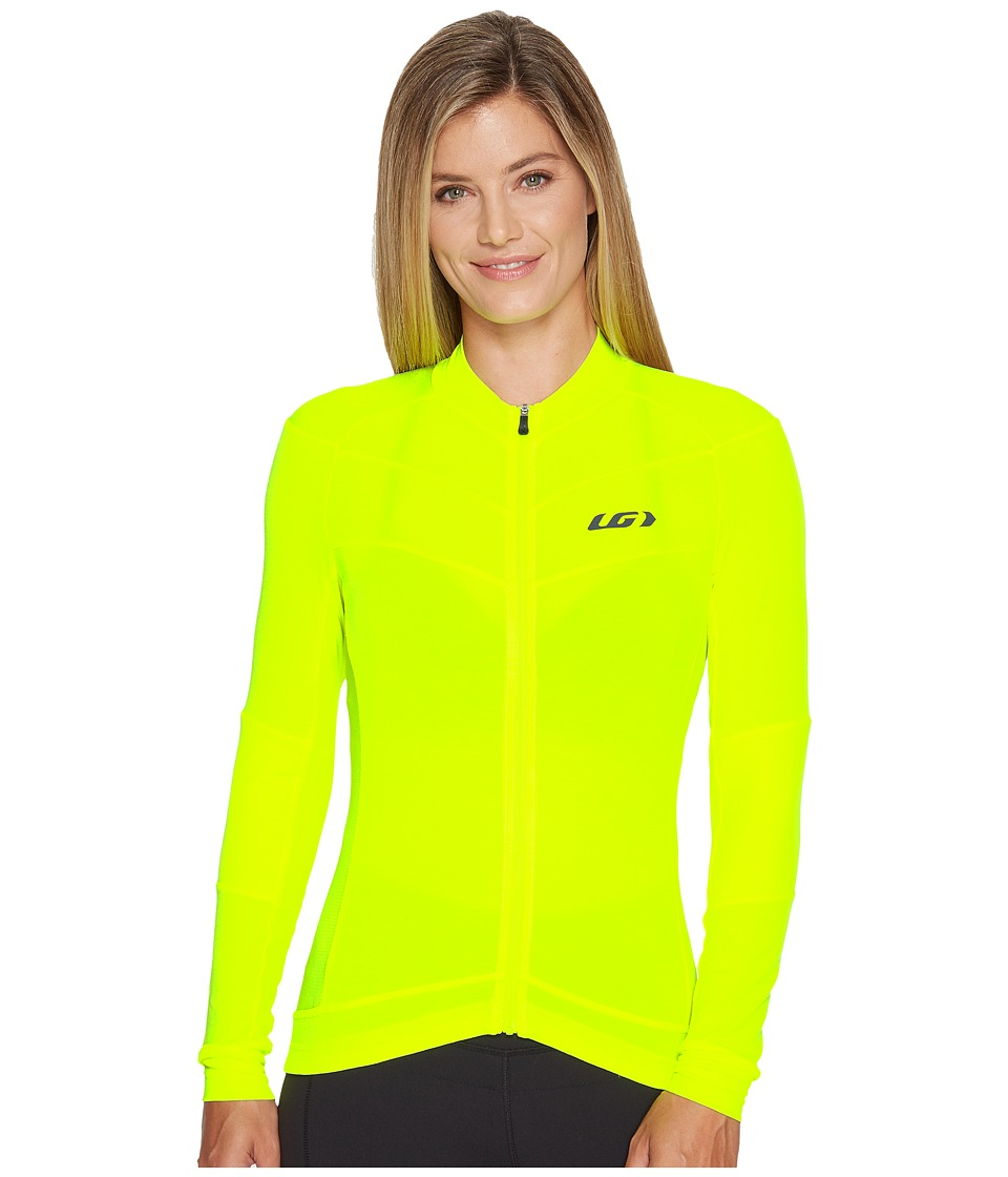 Louis Garneau - Beeze Long Sleeve Jersey (Bright Yellow) Womens Clothing