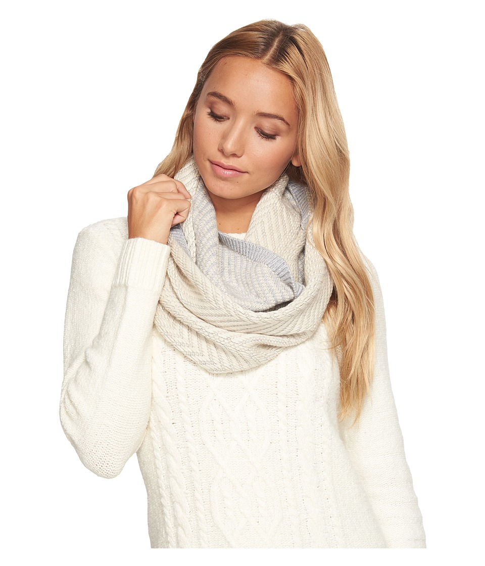 Ugg Chevron Infinity Scarf (Sterling Heather Multi) Scarves